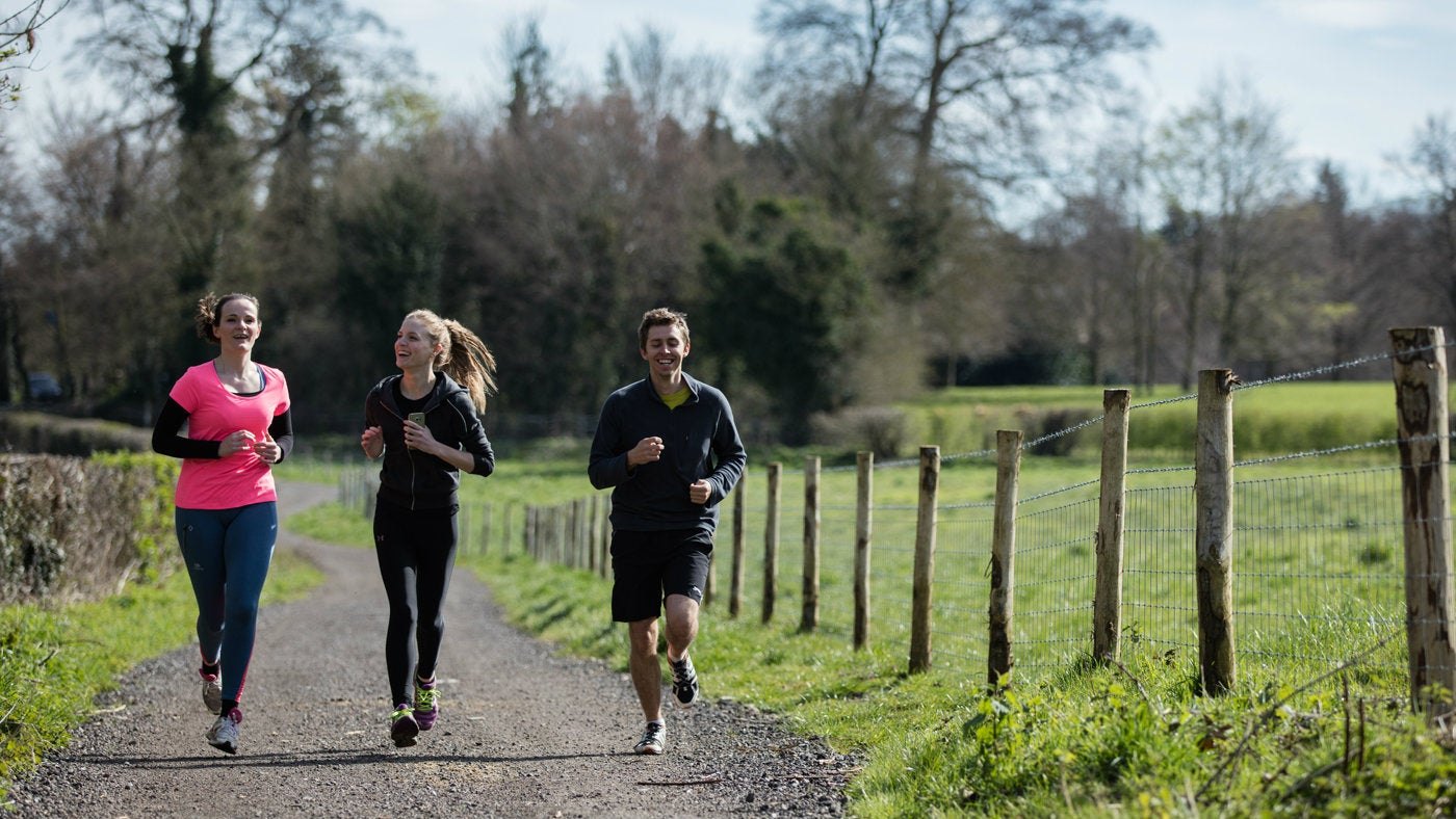 how to train for a 10km run