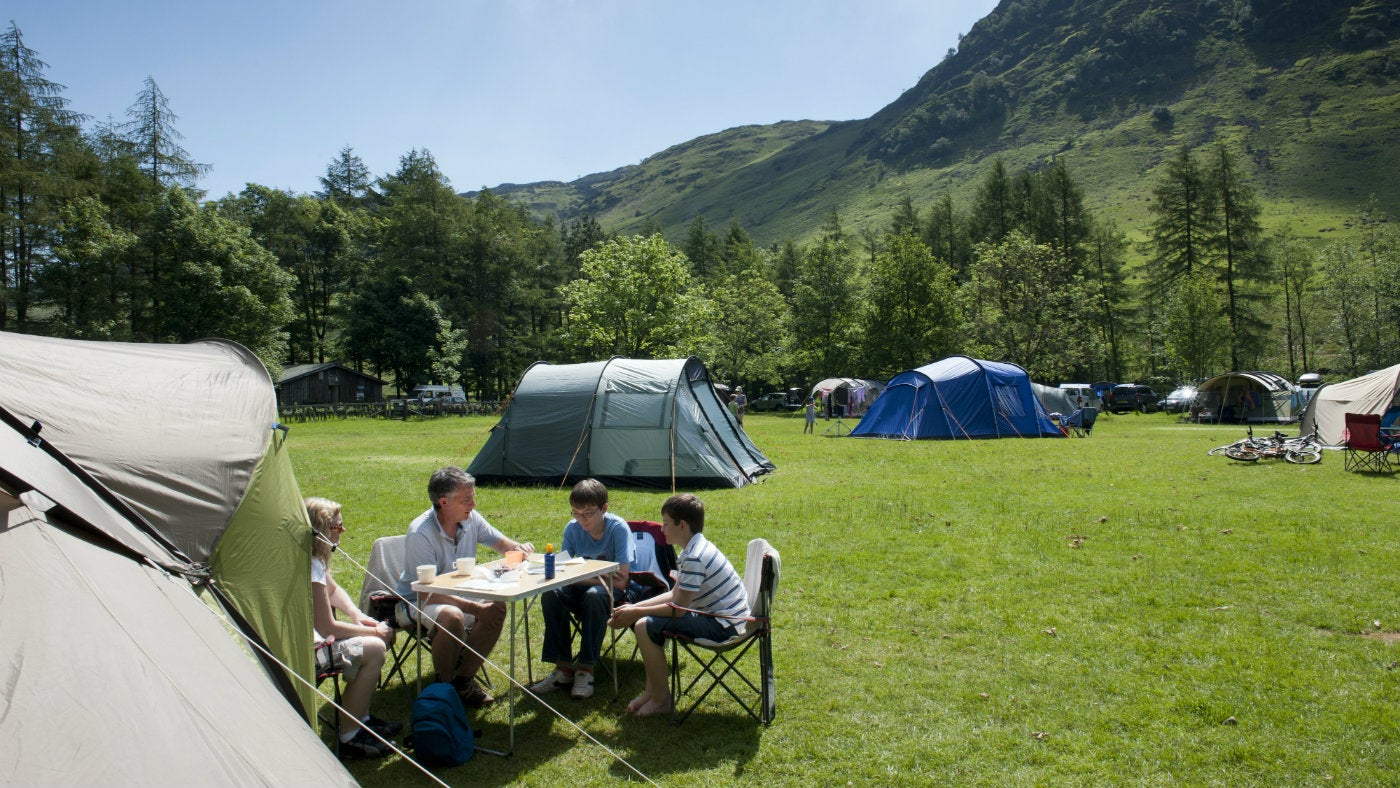 Yurts, tipis and Berber tents | National Trust
