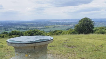 Views from the Haresfield Beacon in Gloucestershire
