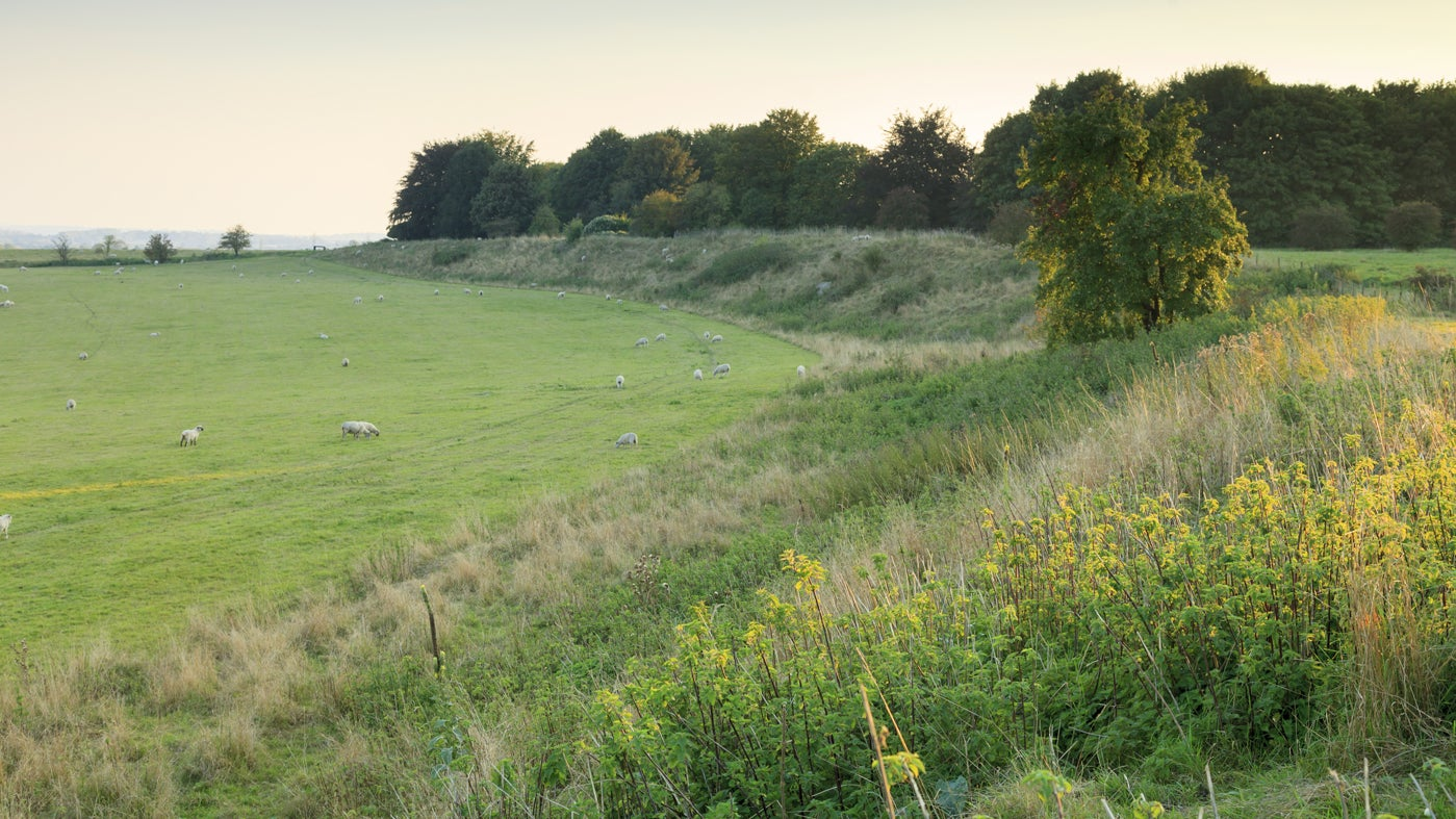 Durrington Walls at the Stonehenge Landscape, Wiltshire