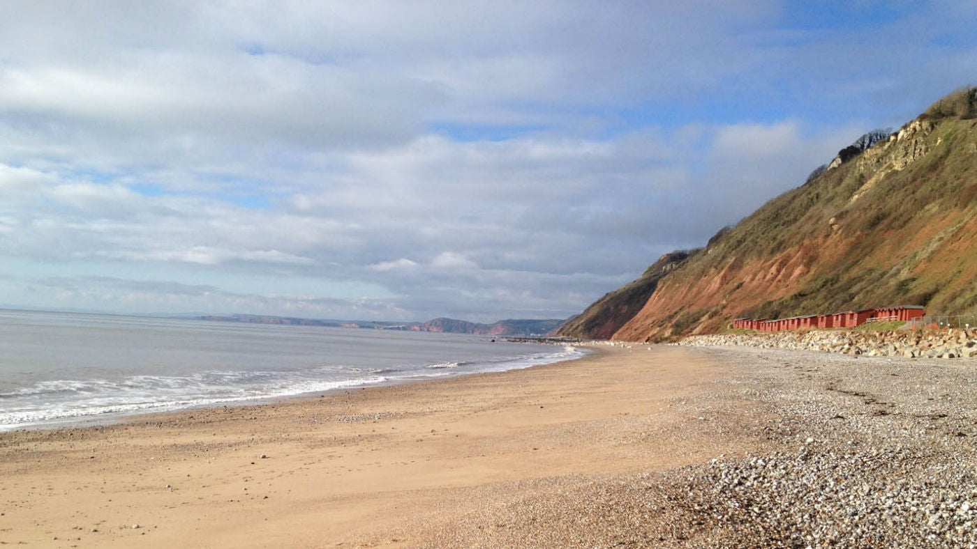 Branscombe Mouth is part of the Jurassic coast