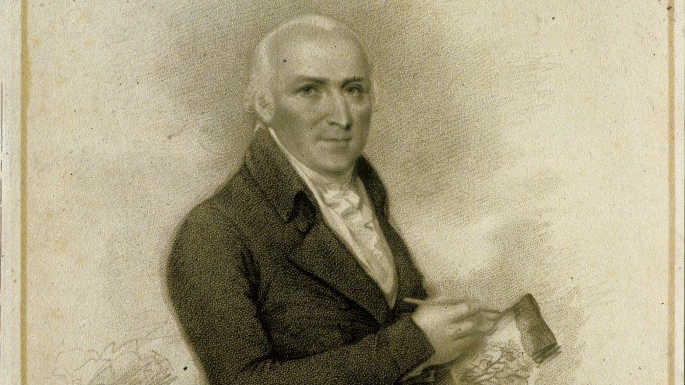A portrait of Humphry Repton