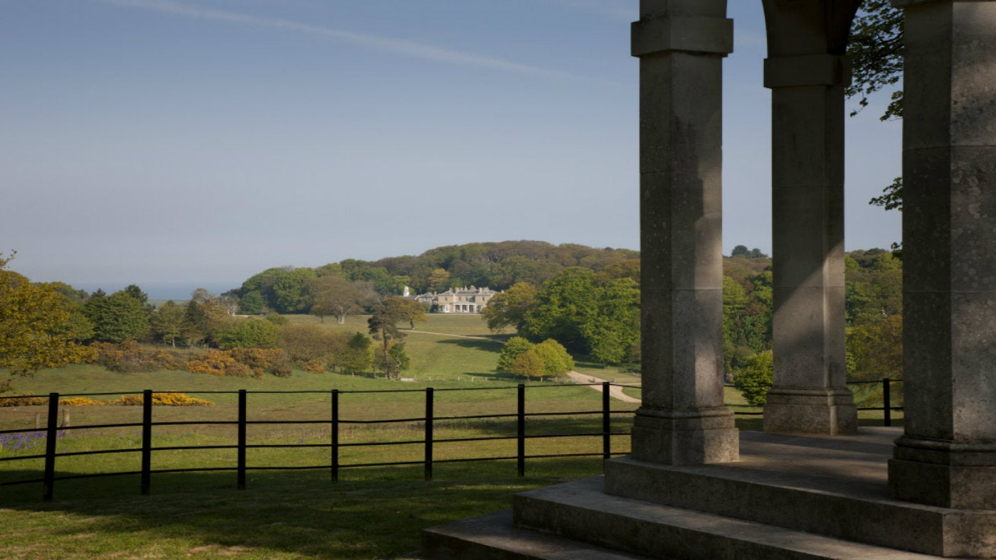A view from the temple designed by Humphry Repton