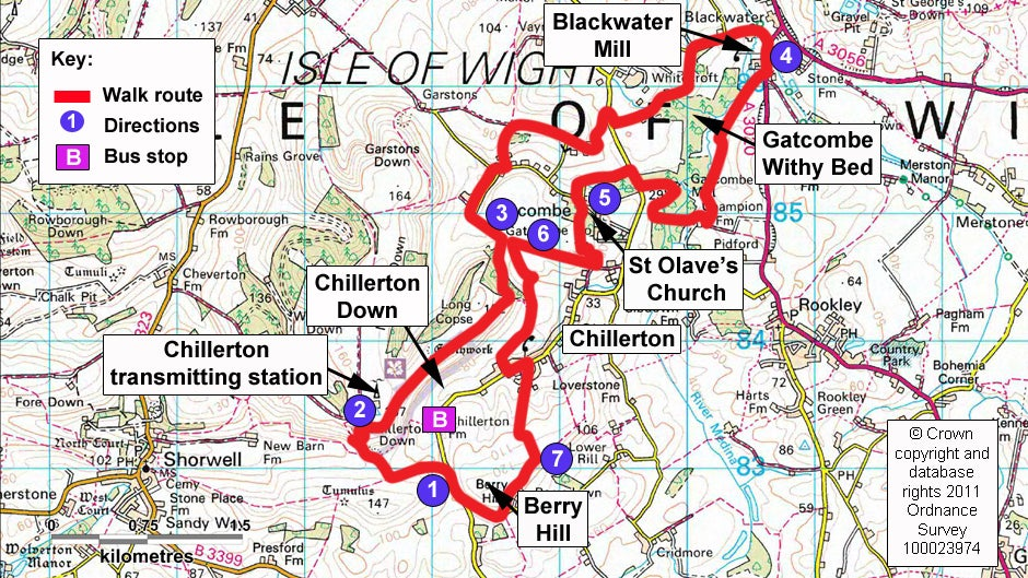 Up for the challenge of a Chillerton Down walk  National Trust