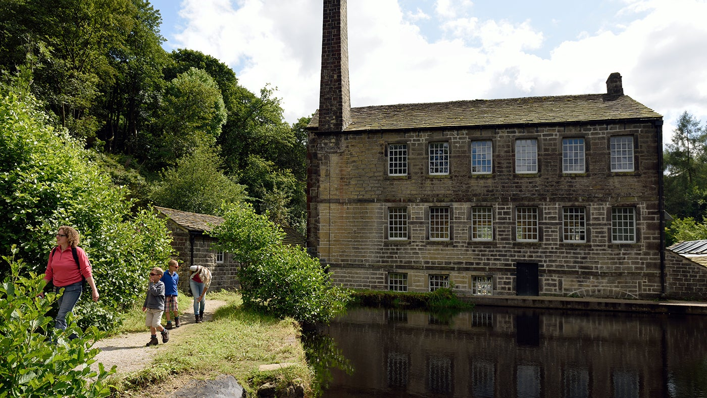 Gibson Mill at Hardcastle Crags, West Yorkshire