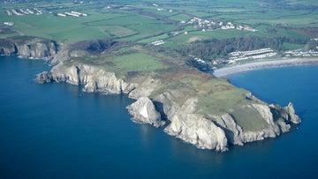 Lydstep Head from the air