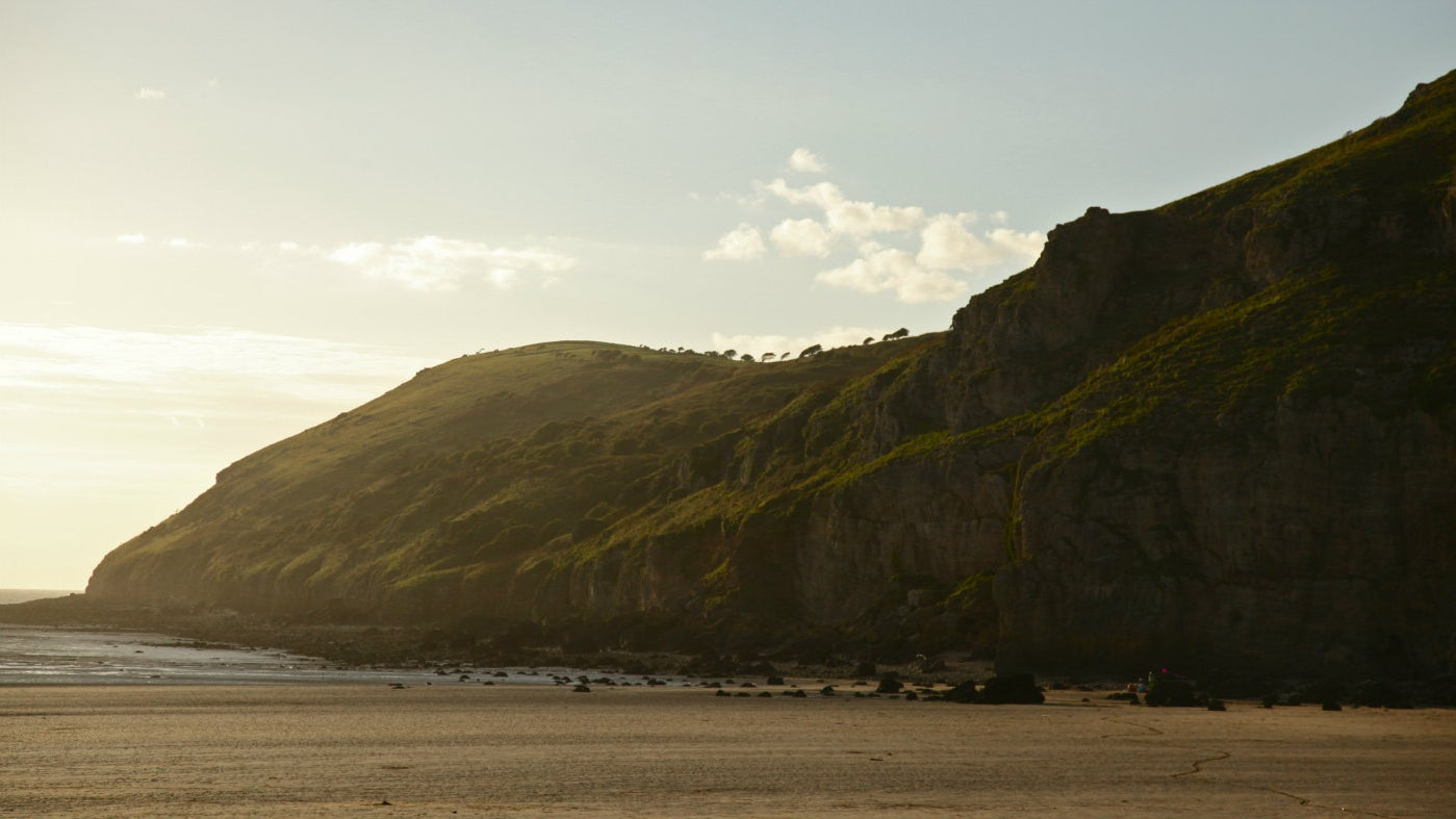 Brean Down, coastal site, Somerset