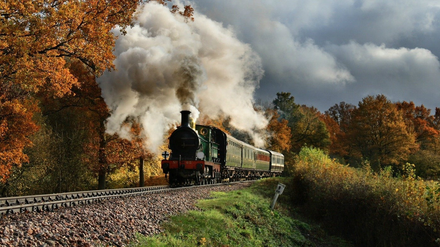 Standen and the Bluebell Railway, West Sussex