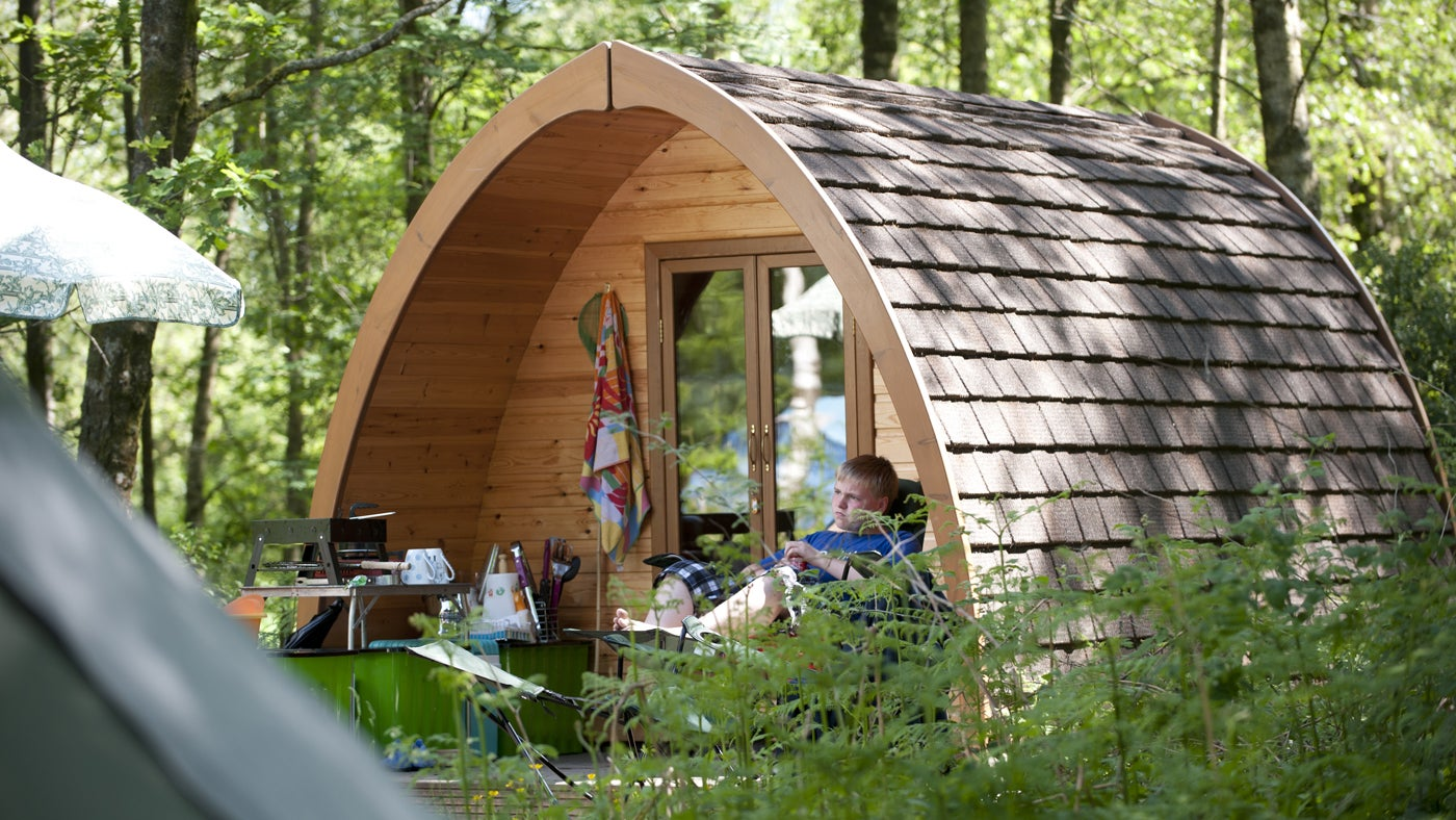 Camping Pods At Castle Ward Co Down National Trust