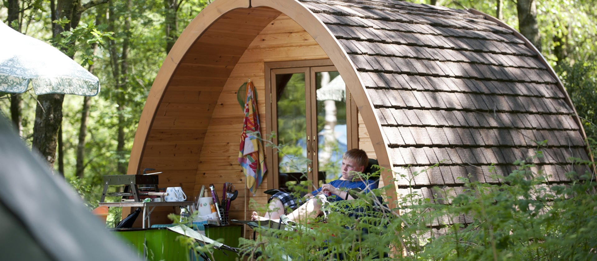 Find glamping pods & glamping holidays UK | National Trust