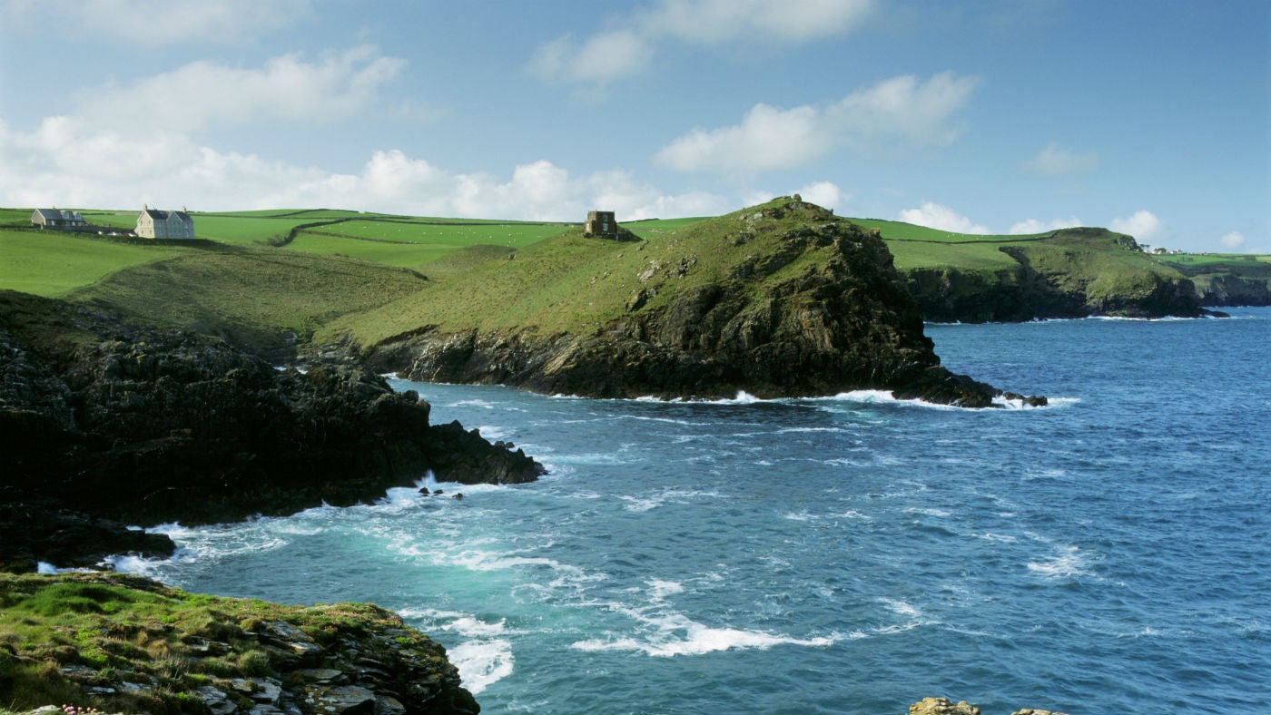 Doyden Cottage at Doyden Point, Port Quin, overlooking Padstow Bay