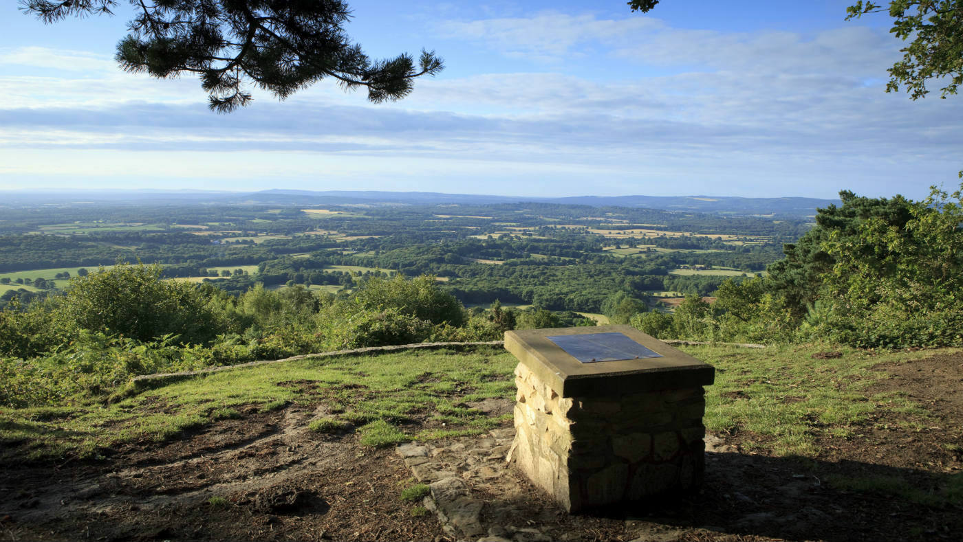 Access Woodland Hills >> South Downs Black Down Temple of the Winds walk | National ...