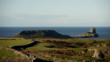 View of Worms Head, Rhossili