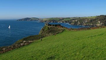 The view to Pencarrow Head, Cornwall