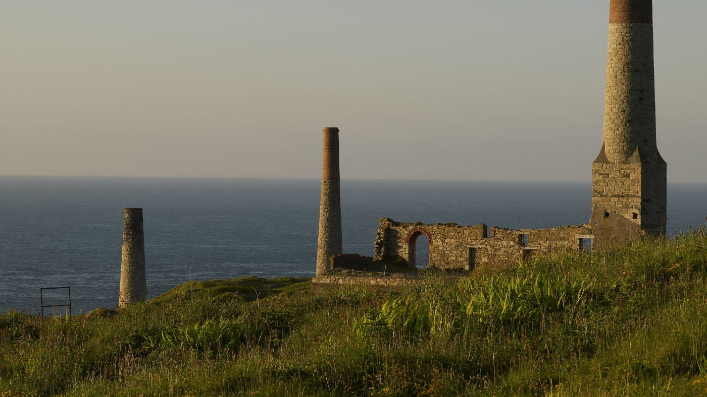 Botallack Mine near St Just, Cornwall