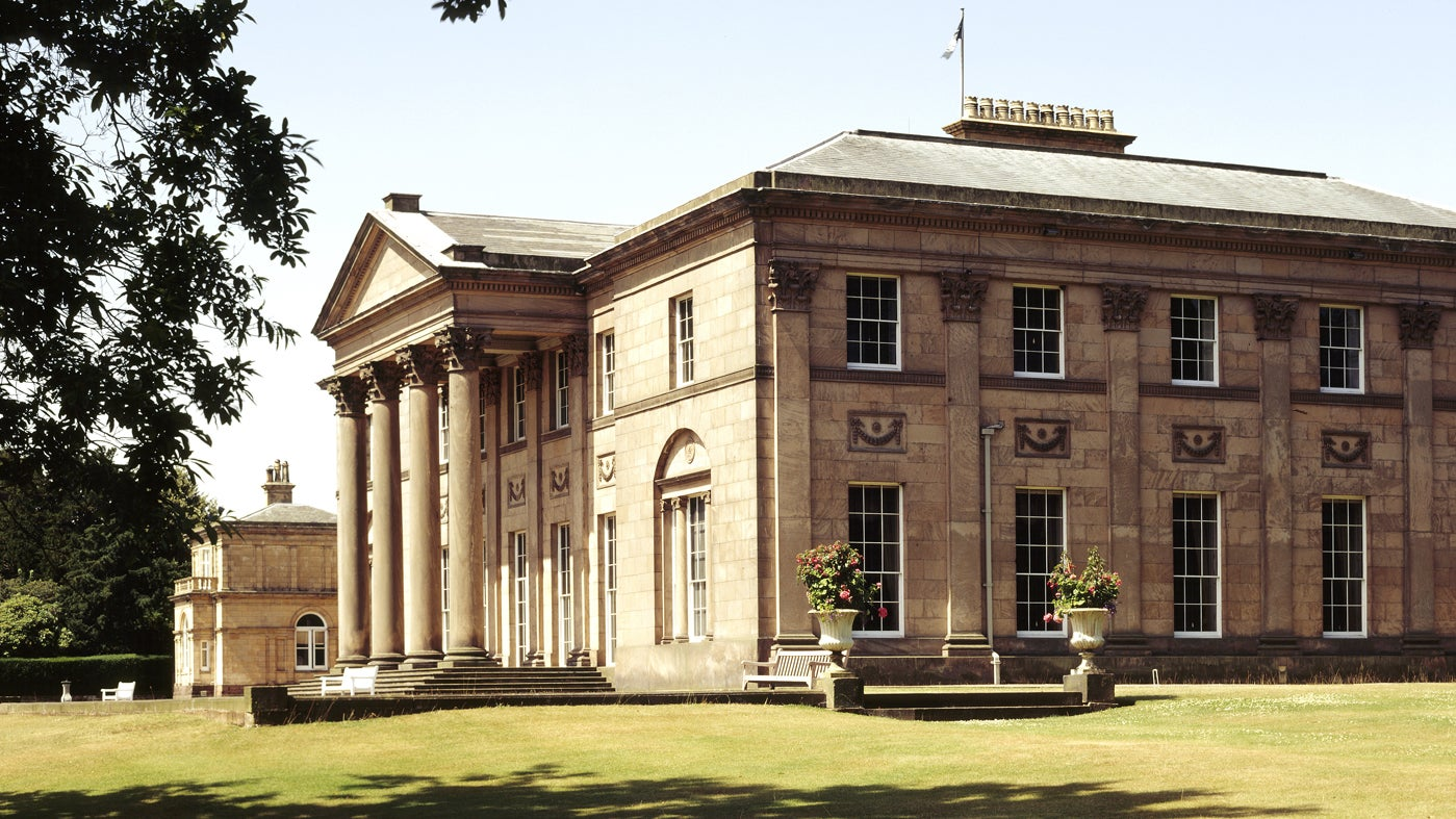 View of the mansion at Tatton Park