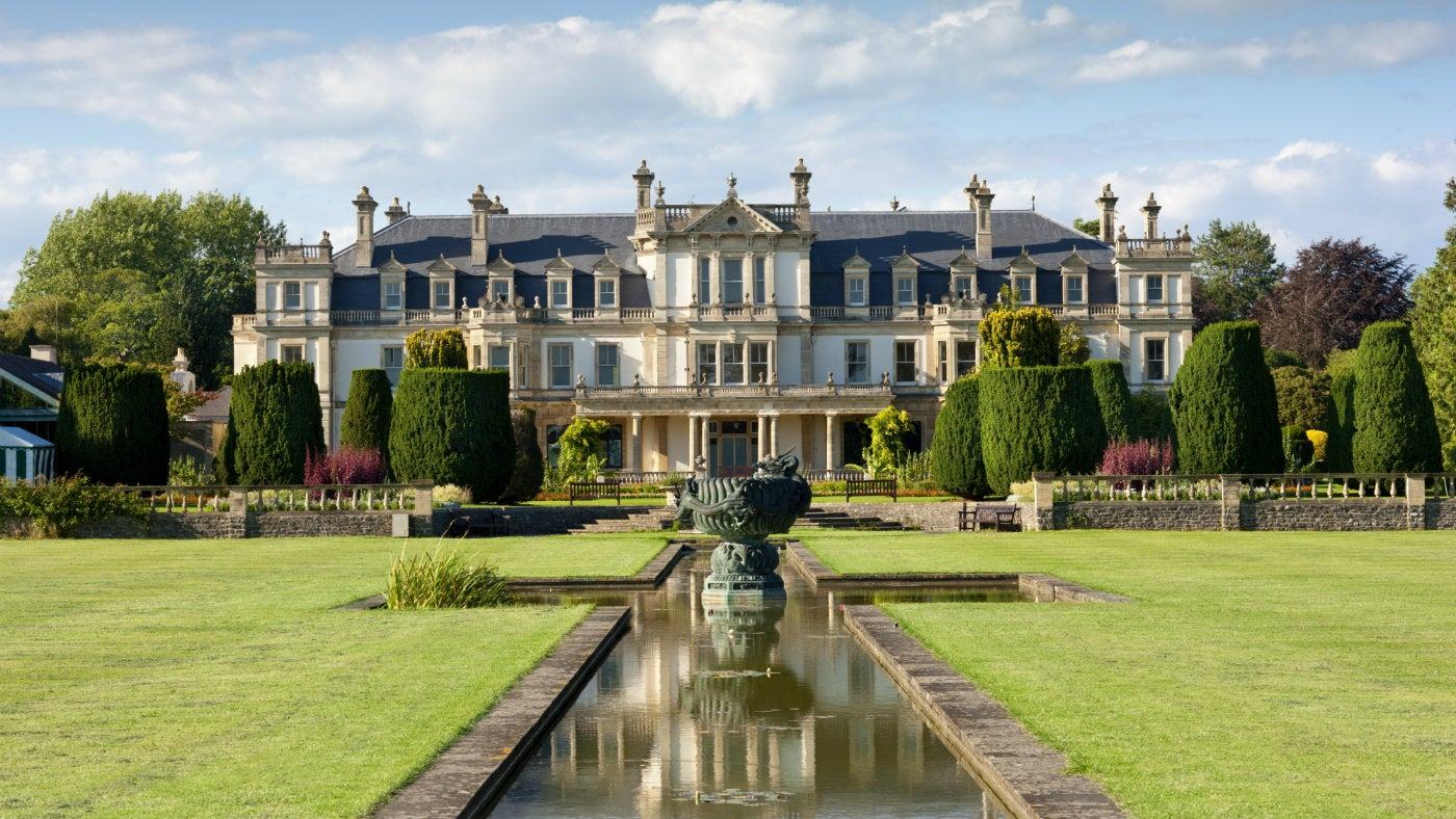 Victorian mansion house at Dyffryn Gardens, Vale of Glamorgan