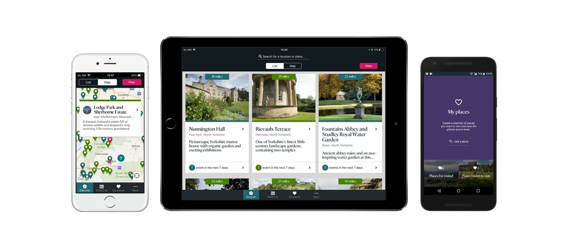 Download our iOS and Android mobile apps   National Trust