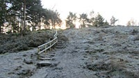 Snowball ridge at Frensham Little Pond Surrey