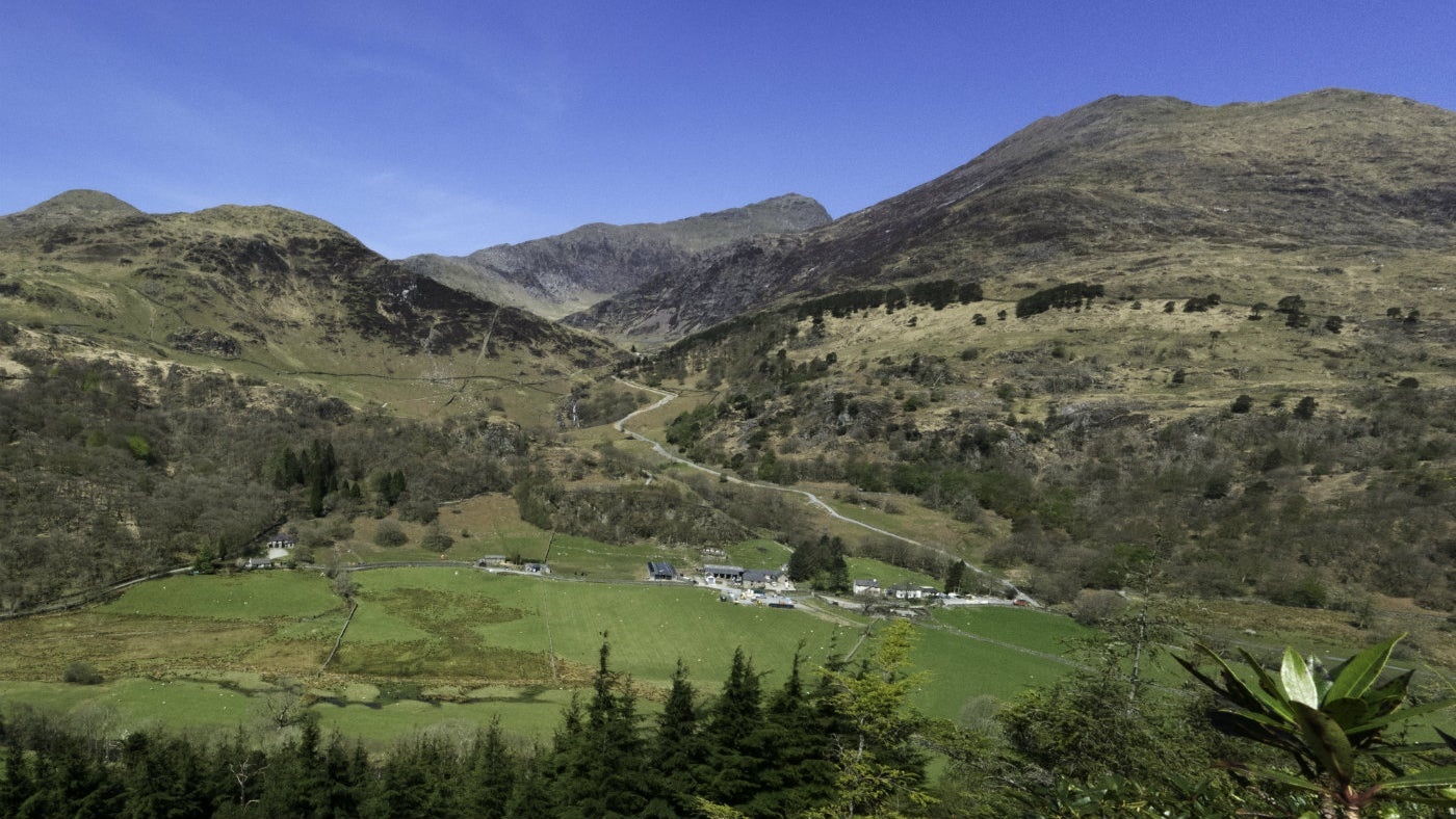 Hafod y Llan Farm and Campsite in Snowdonia