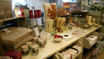 Seasonal stock on display at St David's Visitor Centre and Shop