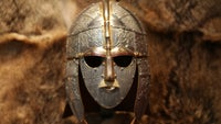 Hand-crafted replica of the Sutton Hoo helmet