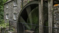 The waterwheel at Cotehele Mill, Cornwall