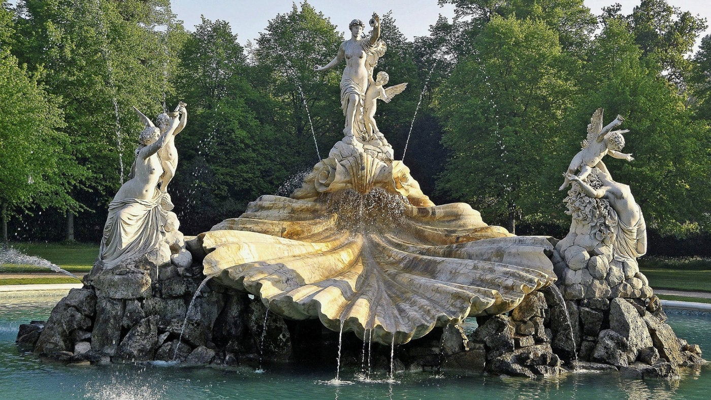 The Fountain of Love at Cliveden in Buckinghamshire