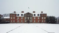 Dunham Massey Hall in the snow
