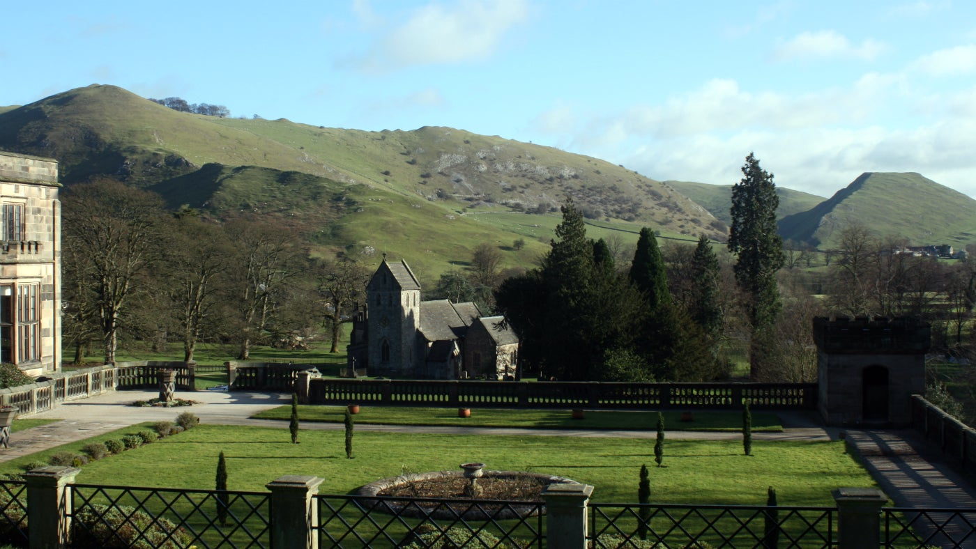 Ilam Park To The Stepping Stones In Dovedale National Trust