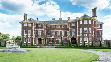 View of Ham House from the North terrace