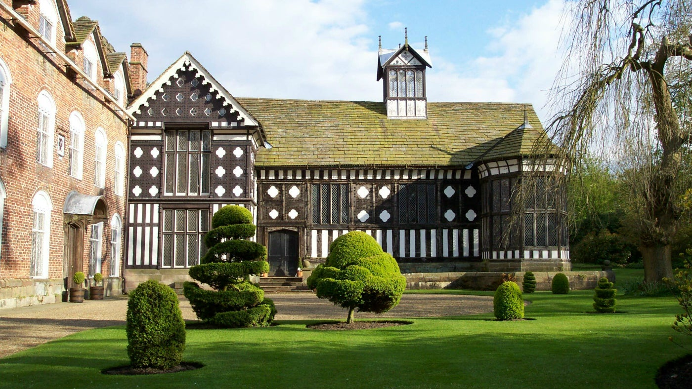 Rufford Old Hall National Trust