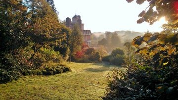 Autumn in the garden at Standen, West Sussex.