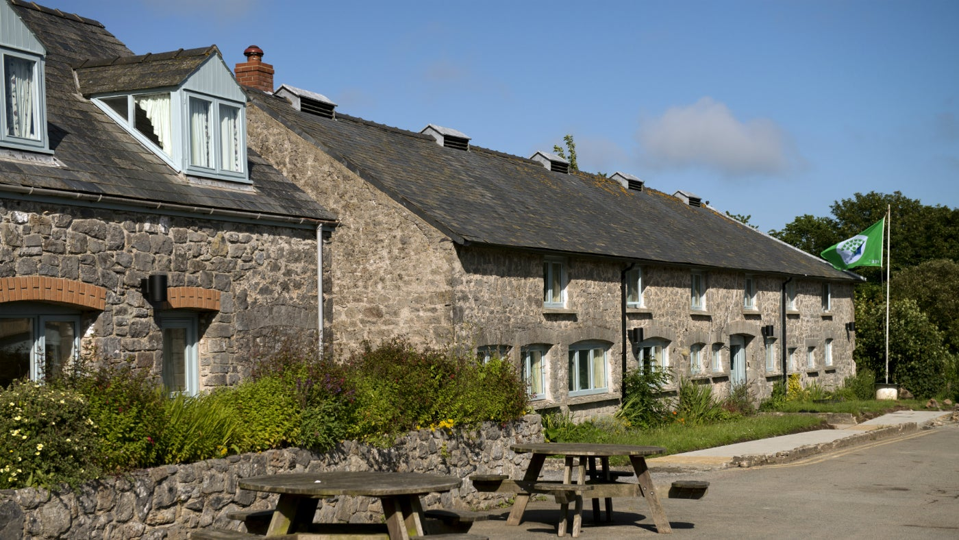 Exterior view of Stackpole Outdoor Learning Centre
