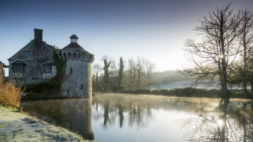 The Old Castle on a frosty morning