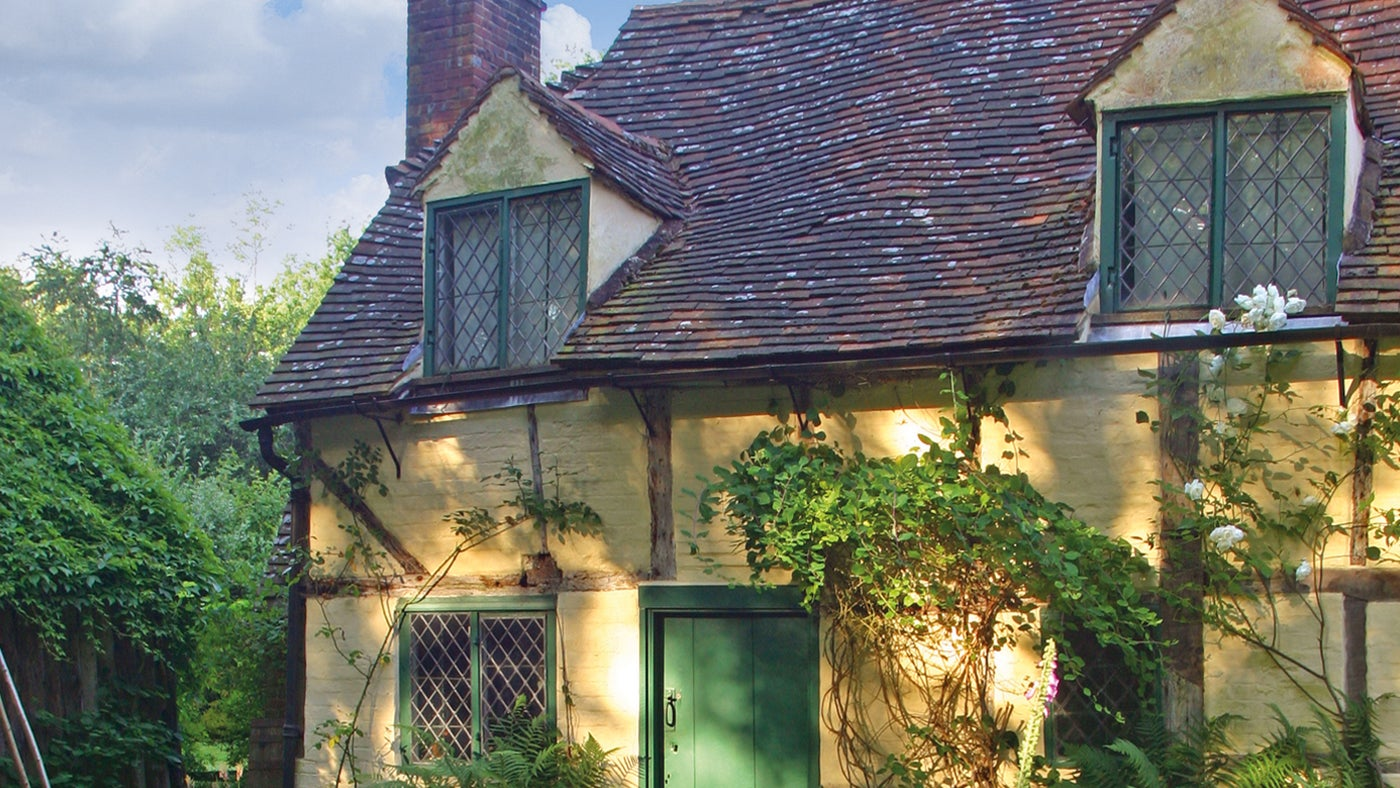 The 16th century cottage in Hambledon, Surrey