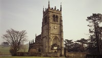 Exterior view of Staunton Harold Church
