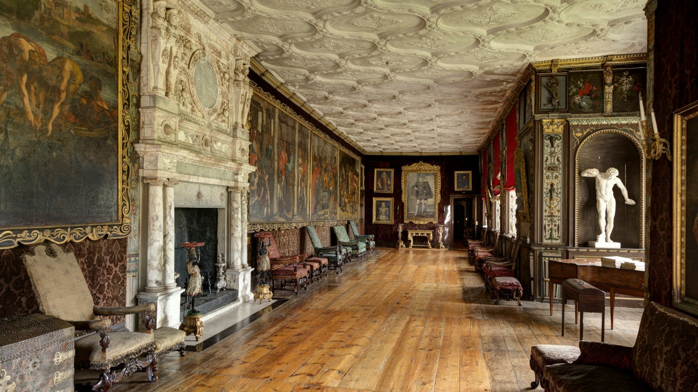 The Cartoon Gallery at Knole