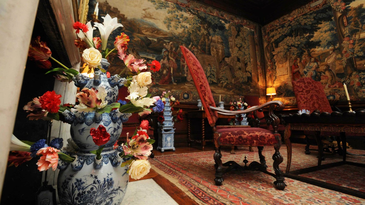 Mr Blathwayt's apartment at Dyrham Park gives you a taste of the 17th Century