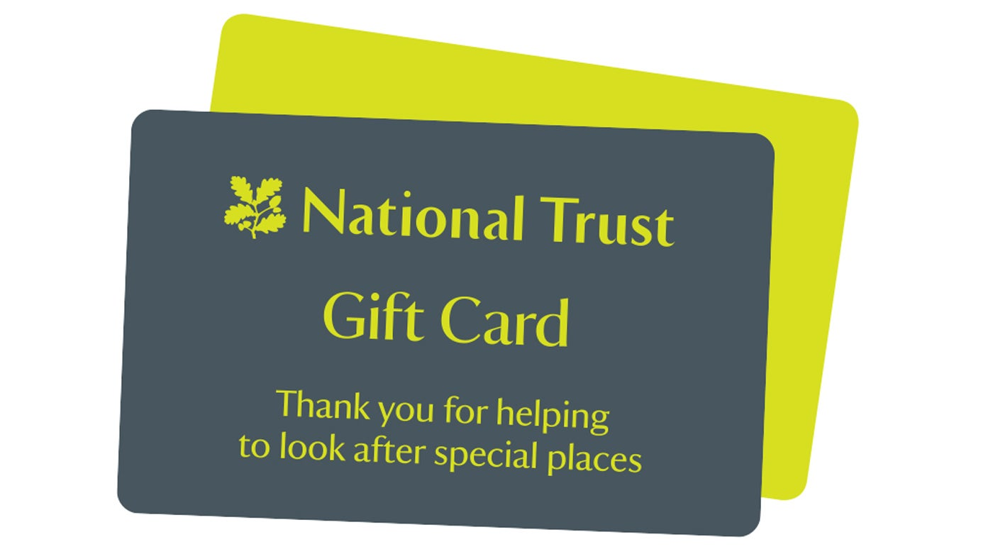 Gift cards | National Trust