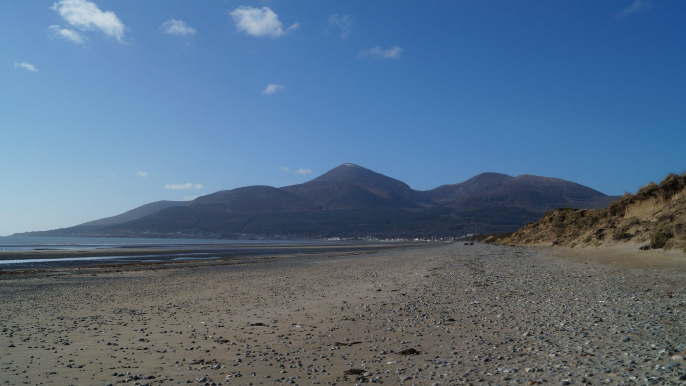 Murlough National Nature Reserve picturesque beaches