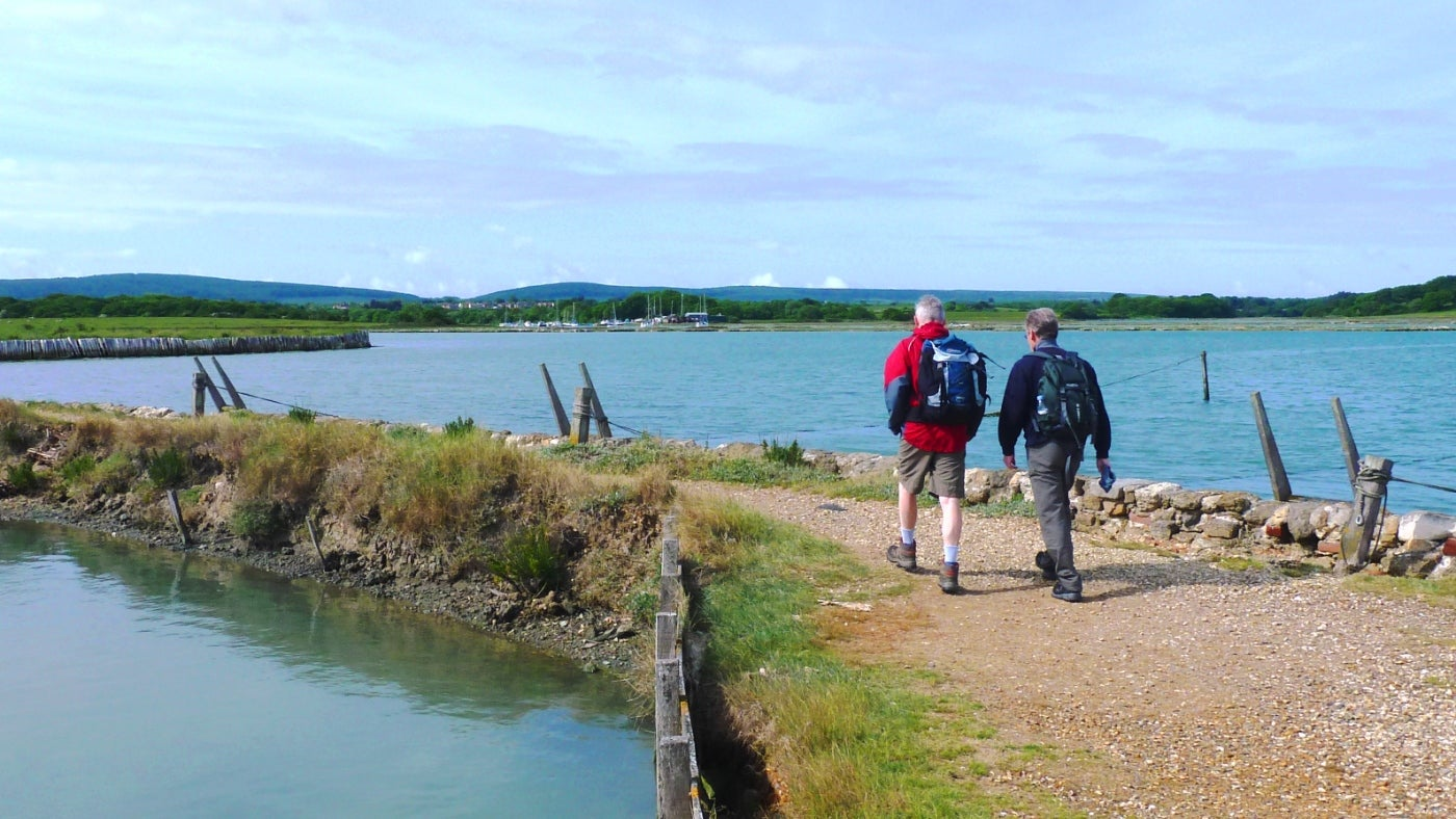 Download a walking trail and take in some the most astonishing coastal scenery in the South East. Fill your lu