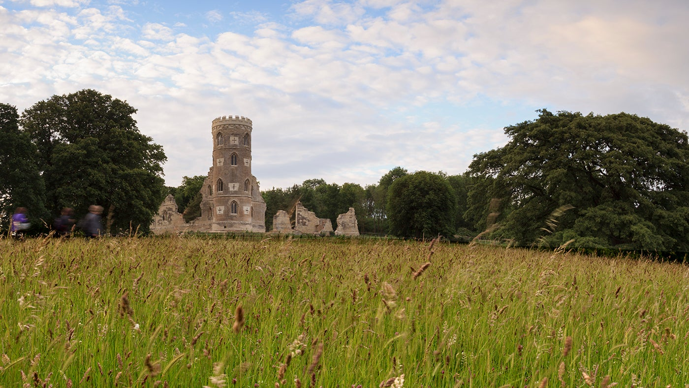 The Gothic Folly at Wimpole