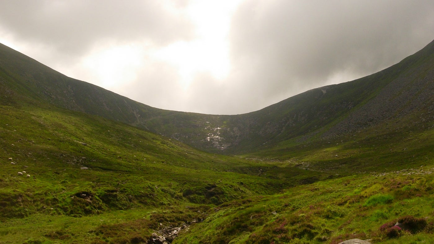 The Saddle in the Mournes