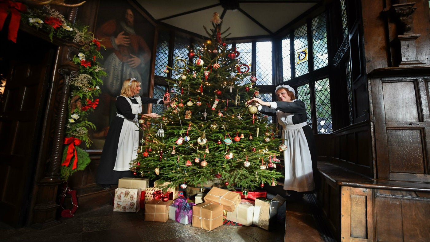 Historic Christmas Traditions At Places Near You National