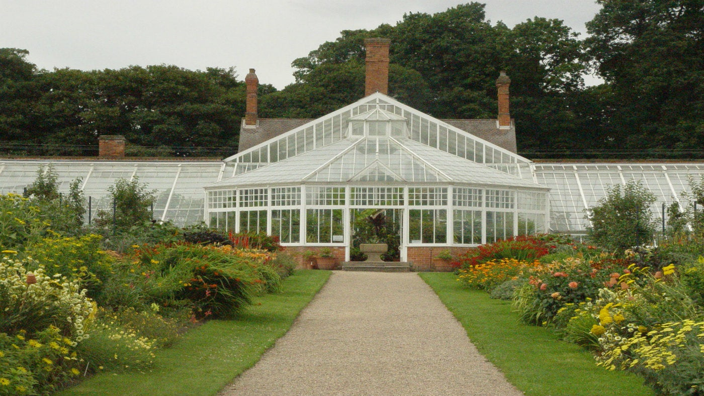 Walled Kitchen Garden at Clumber Park
