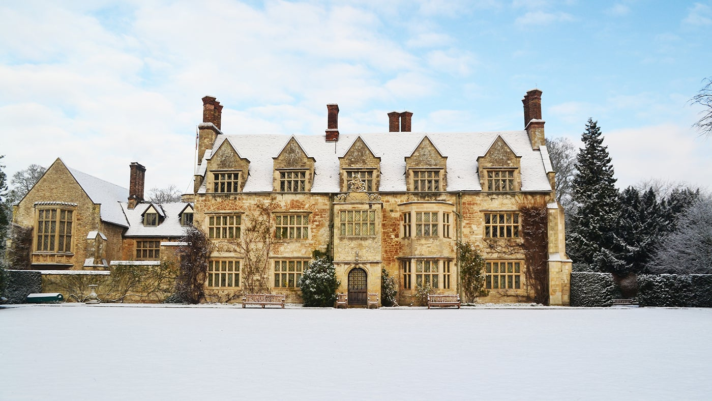Anglesey Abbey in Winter