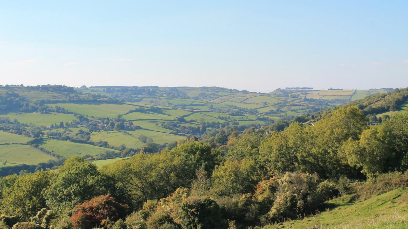 A view from Little Solsbury Hill