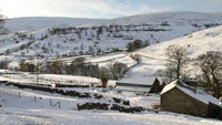 Upper Wharfedale in the Yorkshire Dales