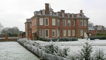 Winter at Hanbury Hall